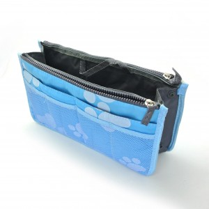 Multi layer cosmetic pouch