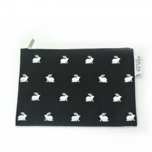 Fashion cotton canvas pouch