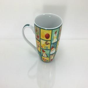 Bullet shape porcelain mug (AB grade)