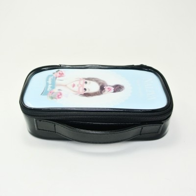 Cosmetic Case with Brush compartment
