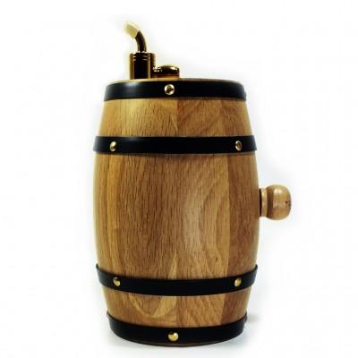 Wooden bottle dispenser