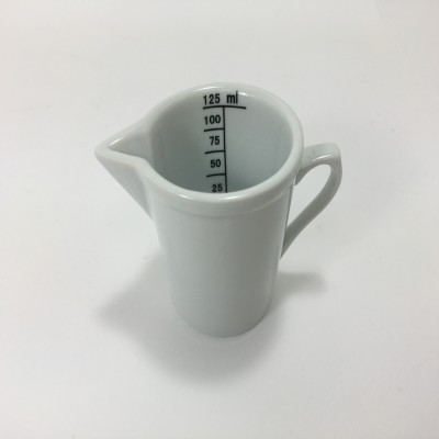 Porcelain measuring cup