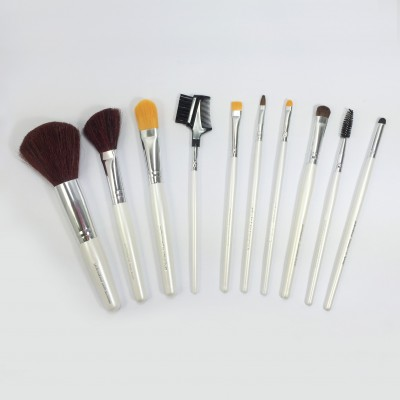 10pcs set of good quality & professional cosmetic brush