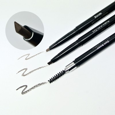 Eyebrow mechanical Pencil with eyebrow brush