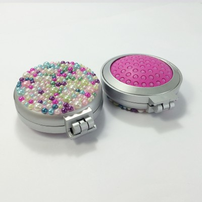 Portable Colourful pearls brush